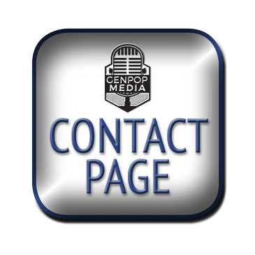 GenpopMedia Main Contact Page with Links to projects, productions & key staff members.