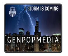 Genpopmedia knows a Storm is Coming.  Offices in Detroit & Chicago, with Chicago hit by lightning.