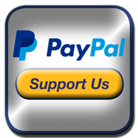 PayPal Support Us Button for Down the Rabbit Hole.  Managed by Genpopmedia, Detroit, Michigan.