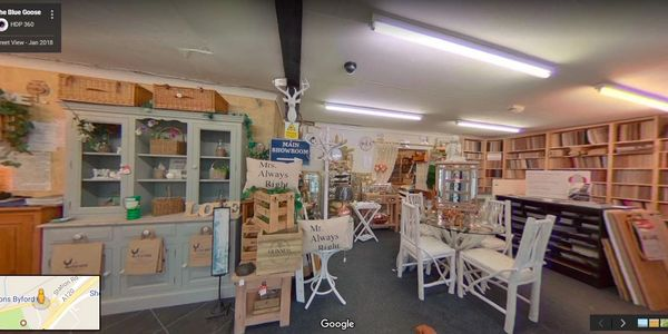 The Blue Goose, bepoke hand made furniture. Colchester, Marks tey on Google Maps. 360° Virtual Tour