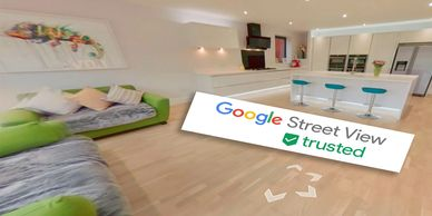 360 degree virtual tours. Adding businesses to Google Maps, Google Trusted photographer in Essex.