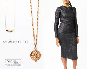 Affordable luxury - golden jewels that you can enjoy everyday.  Build  your capsule collection for j