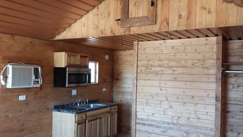 Derksen Finished Cabins | Sealy Portable Buildings