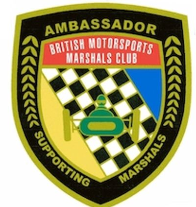 The BMMC have kindly made me a BMMC Ambassador in recognition of my efforts to support marshals :)