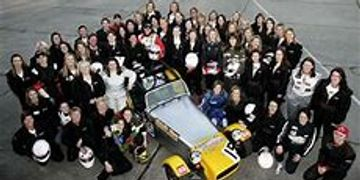 Formula Woman Top 100 at Pembrey races 2006