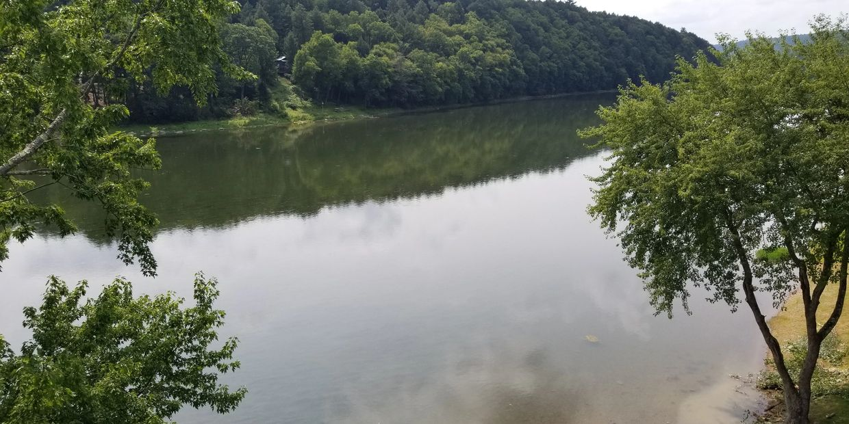 Kibbe's Island Campground on the Allegheny River