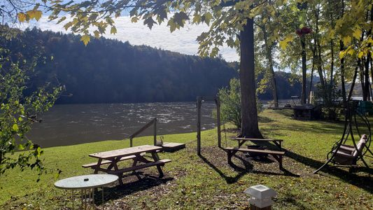 Kibbe's Island Campground on the Allegheny River Campsite