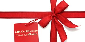 gift certificates, birthday, gift ideas