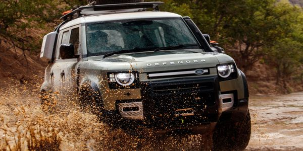 Land Rover Defender in Scotland with Celtic Routes Ltd.