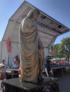 We were honored to be part of the historic event - Canonization of Mother Theresa in Battery Park, N