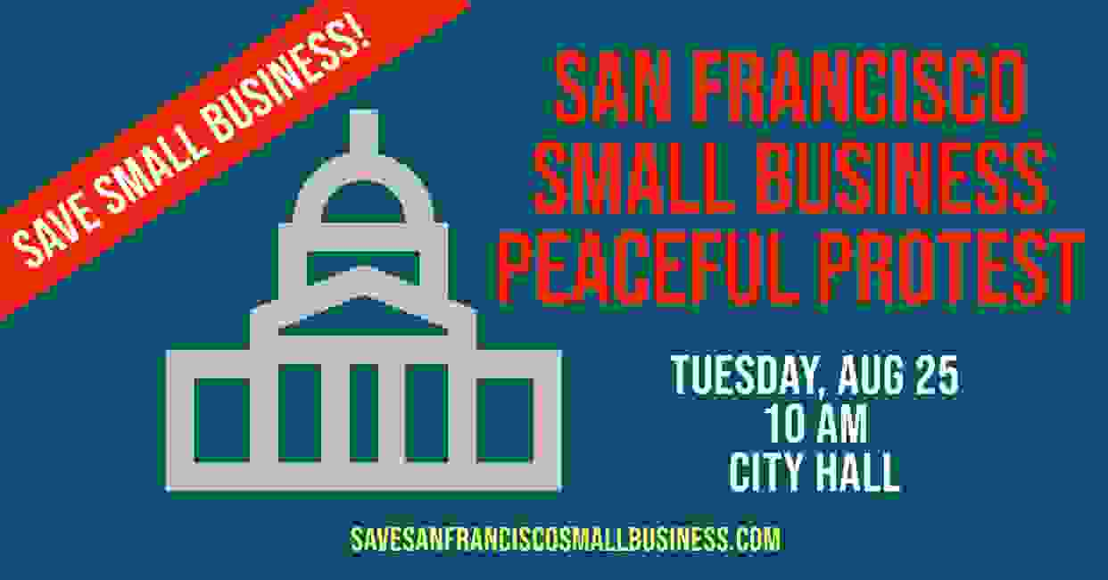 San Francisco Independent Fitness Coalition Protest