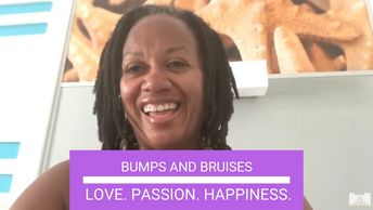 Joycelyn Wells love passion happiness bumps and bruises life's lessons learning growth yoga