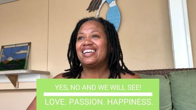 Joycelyn Wells love passion happiness yes, no and maybe speak with certainty youtube series