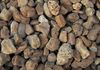 "Walnut Pebbles 1""-2"" - 2400 lbs/yard, 1 ton covers 100 sqft @ 2"" deep. Also available in .5 cuft bags, 3 sqft @ 2""."