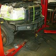 custom bumpers, straight axle conversion, roll cage, suspension modification, traction bars, welding