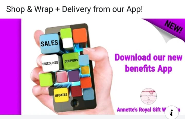 Shop and Wrap, Plus Delivery App. Download our new benefits App today
