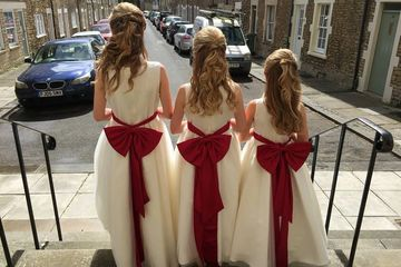 wedding hair and make up frome