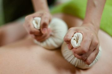 herbal compress thai massage radstock