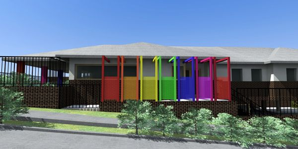 NEW PURPOSE DESIGNED CORNER BLOCK CHILDCARE CENTRE - designed by Archizen Architects Sydney