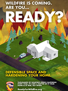 CALFIRE WEBSITE FOR WILDLAND FIRE PREPARATION