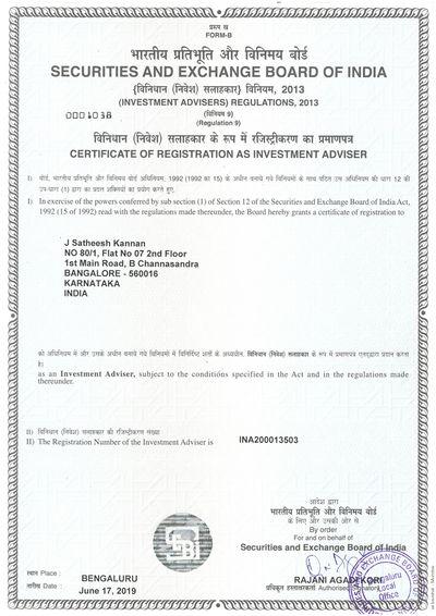 Investment advisory firm registration in bangalore fx platform