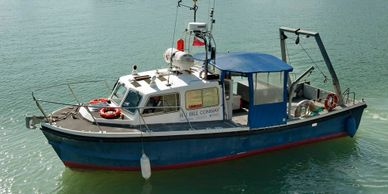 bill conway survey scientific and research vessel for commercial charter in falmouth