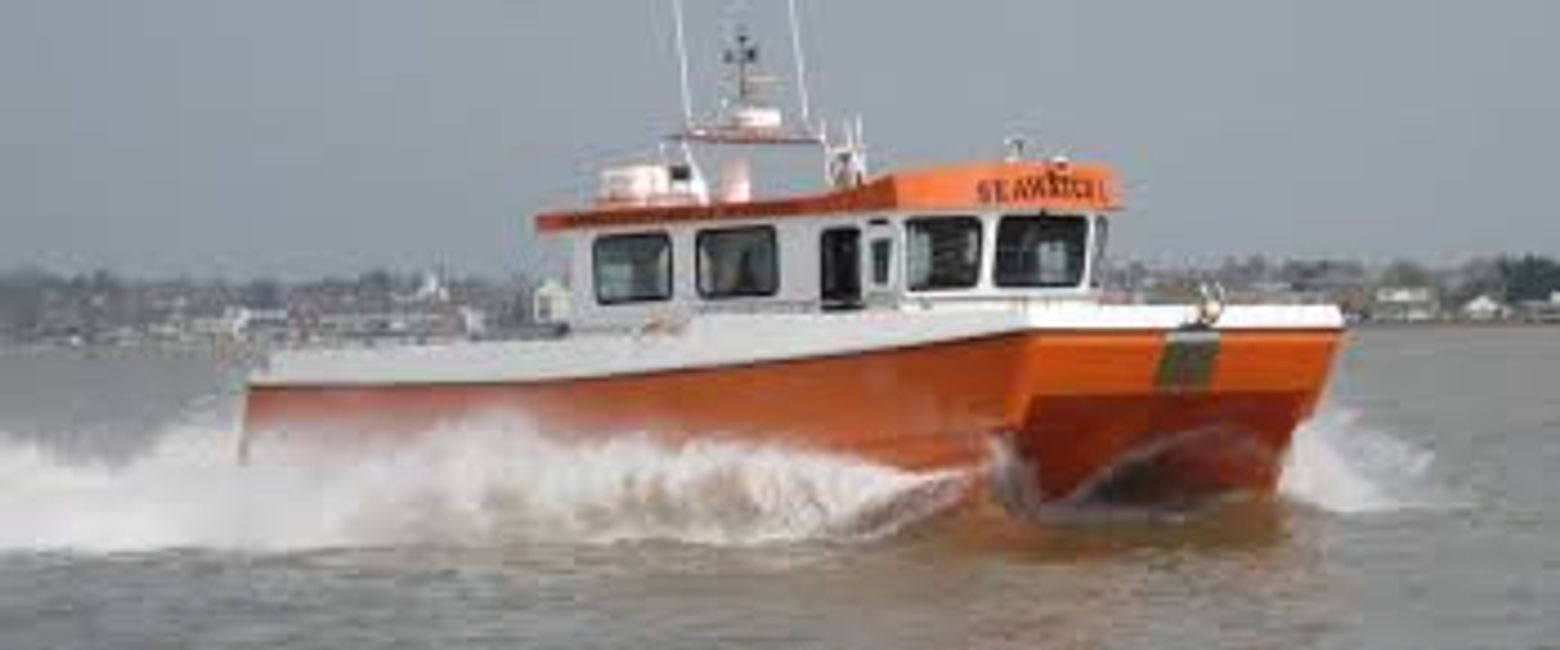 Seawatch 1 chartered dive boat survey media and commercial vessel from Mylor Falmouth Cornwall