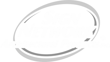 Sign Network Architectural Products