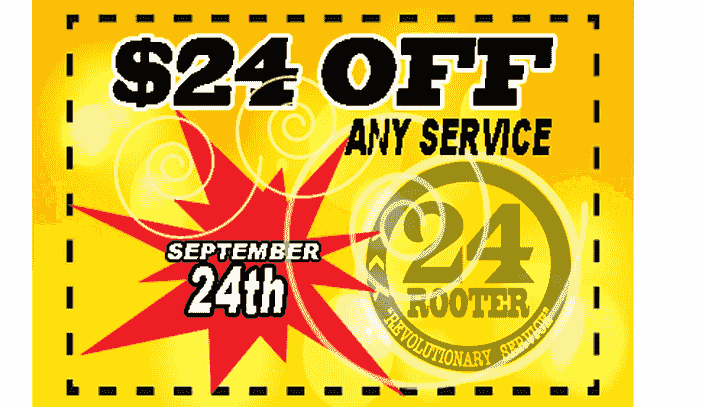 24 rooter of yakima plumbing company coupon offer