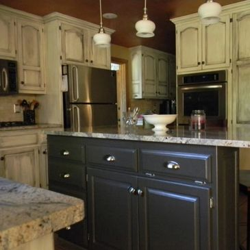 Interior Kitchen Cabinet, Walls & Ceiling Painting Appleton, WI 54911,54912,54913,54914,54915,54919