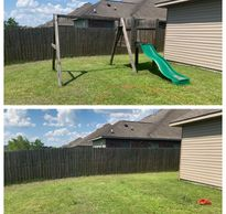 Outdoor playground removal  Play set removal swingset removal