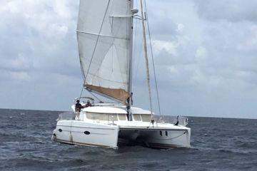 Sail Bolero Boat Charter Big Wind  Catamaran Adventures