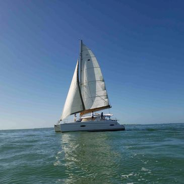 Sail Bolero Catamaran Tours 40' Sailing Yacht At your service Welcome Aboard
