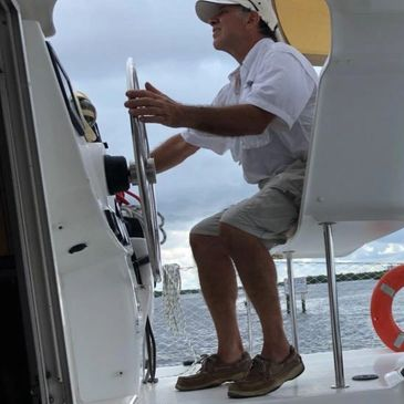 Captain Joe Sail Bolero Catamaran Tours Welcome Aboard