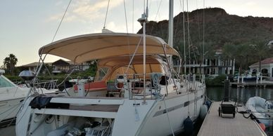 Yacht Delivery Solutions delivered this Bavaria 55 from Curaçao to New Zealand