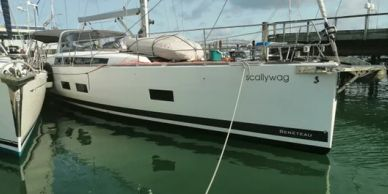 Yacht Delivery Solutions delivered this Oceanis 55 from Brisbane to NZ