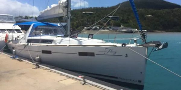 Oceanis 41 delivered by Yacht Delivery Solutions