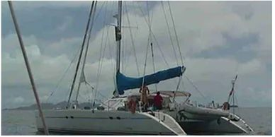 Yacht Delivery Solutions delivered this Jeanneau 55 catamaran from NZ to Tahiti