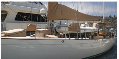 Yacht Delivery Solutions delivered this Sparkman and Stephens from Hawaii to San Diego