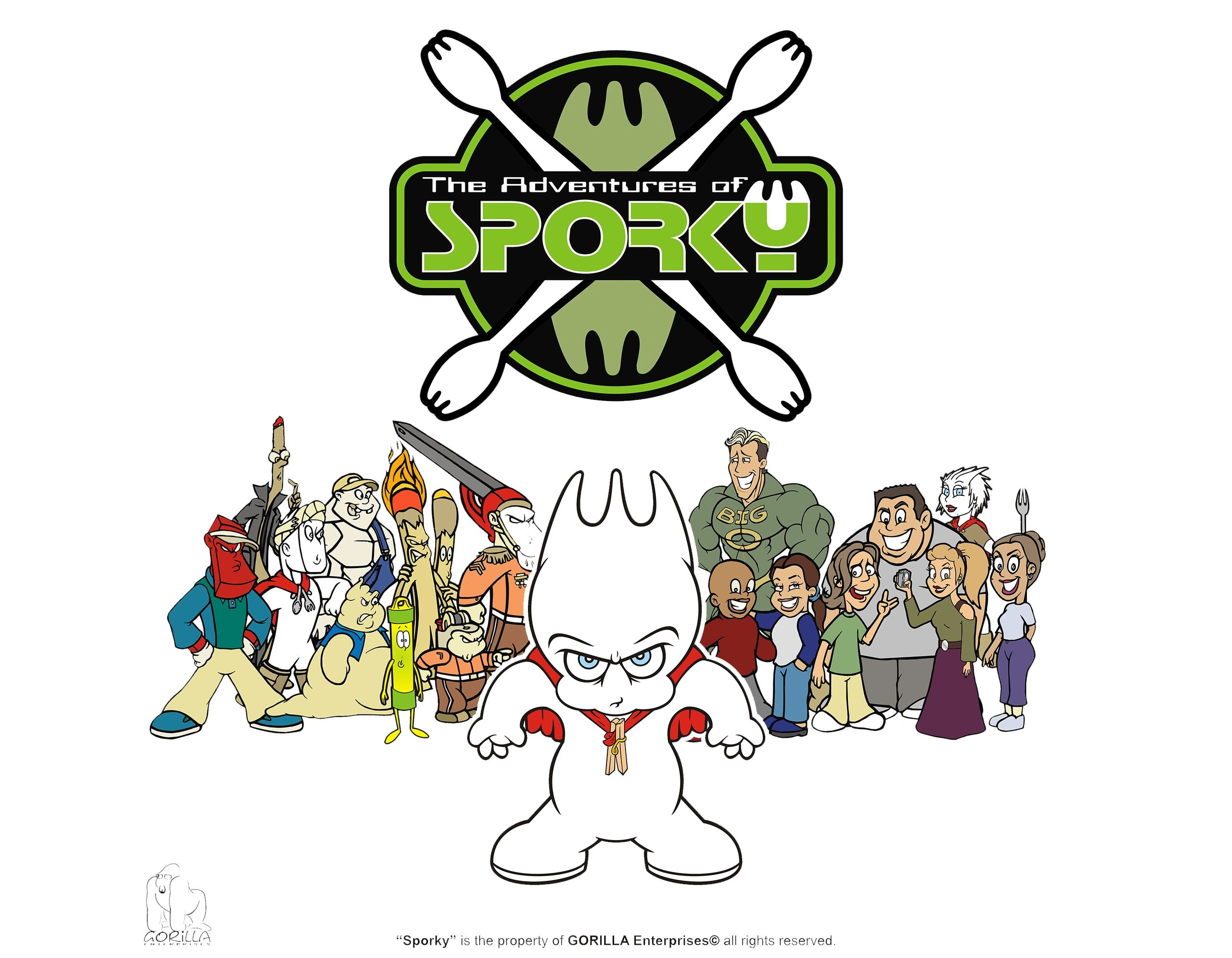 The Adventures of SPORKY Poster