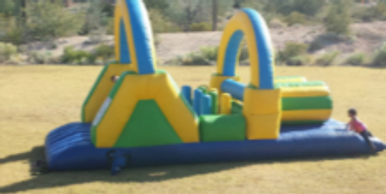 Toddler double lane obstacle course rentals AZ