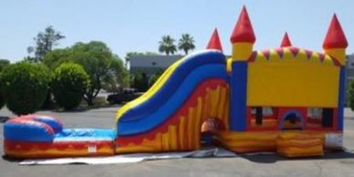 bounce house with water slide rental phoenix