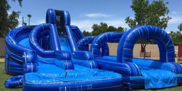 Water slide rentals with 3 slides. Click on the image for more options.