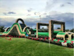 army obstacle course rental - inflatable event rentals AZ
