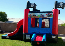 Pirate combo bounce house rentals