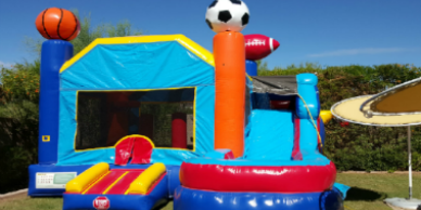 Sports combo bounce house rentals