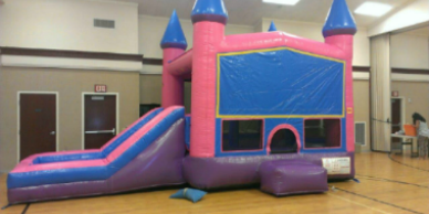 Princess combo bounce house rentals in Phoenix