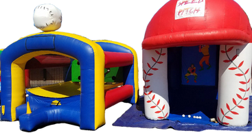 AZ inflatable baseball, speed pitching, home run games in Phoenix.