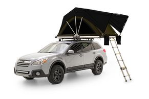 Rooftop Tent on a Subaru
