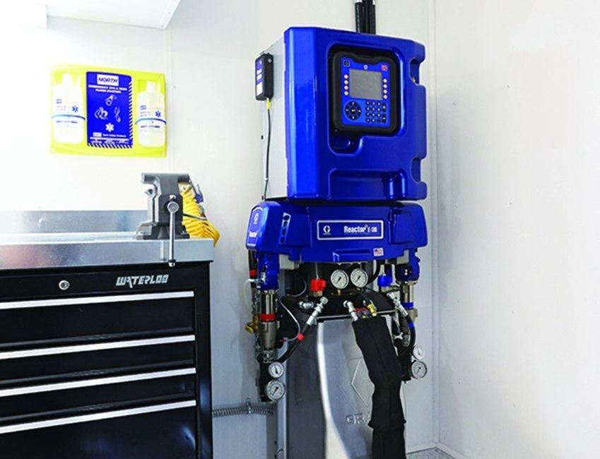 Spray Foam Equipment from Graco and PMC.  Equipment troubleshooting, repairs and warranty work
